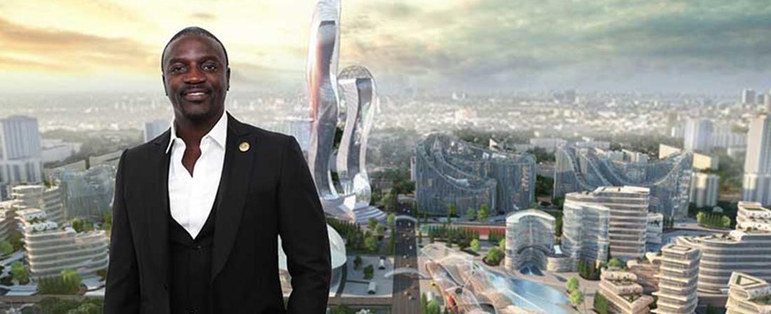 Akon va construire sa propre ville au Sénégal ''Akon city''