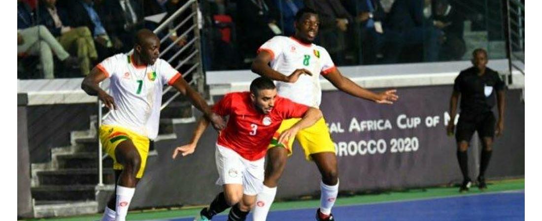 CAN Futsal : l'Egypte ridiculise la Guinée pour son entrée en compétition !