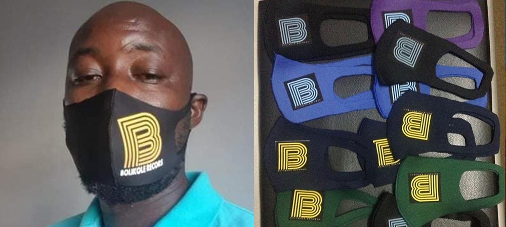 Tidiany Touré offre gratuitement des masques aux artistes guinéens