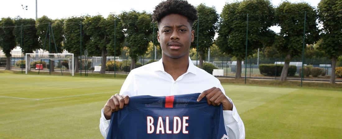 PSG : à seulement 18 ans, Thierno Baldé signe son 1er contrat pro !