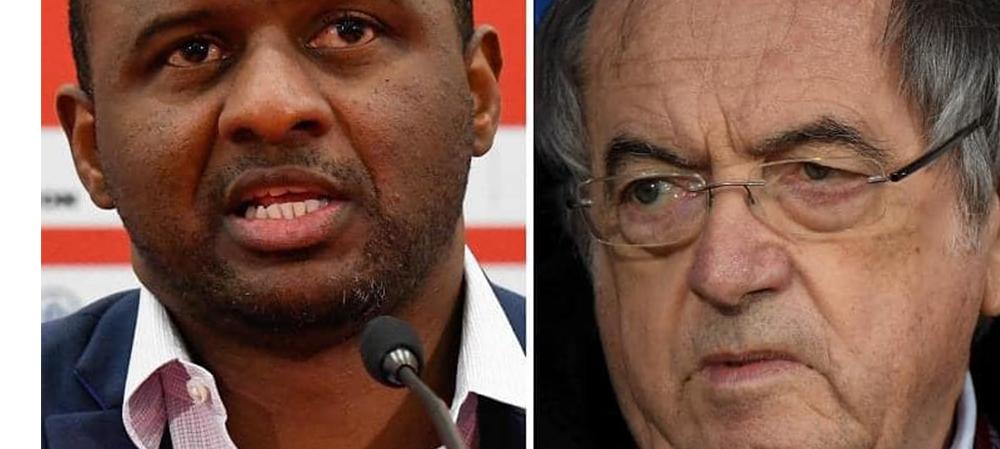 Après Evra, c'est au tour de Vieira de dénoncer le président de la FFF et le rôle des médias