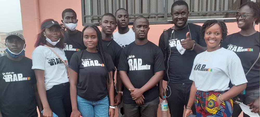 La Nuit du Rap Guinéen démarre par un ''match de l'amitié''