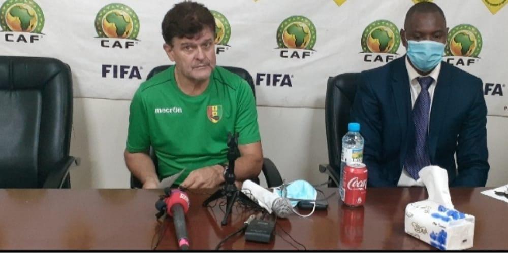 Elim CAN : les entraîneurs expriment leur ambition de gagner le match !