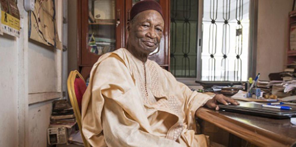 Page noire : l'écrivain Guinéen Djibril Tamsir Niane est décédé