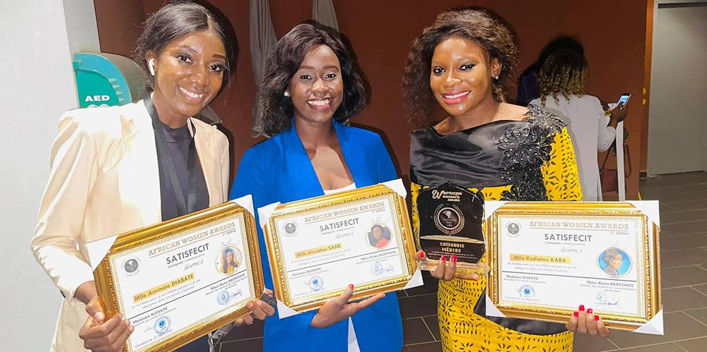 Kadiatou Kaba lauréate du prix catégorie média aux ''African Women's Awards''