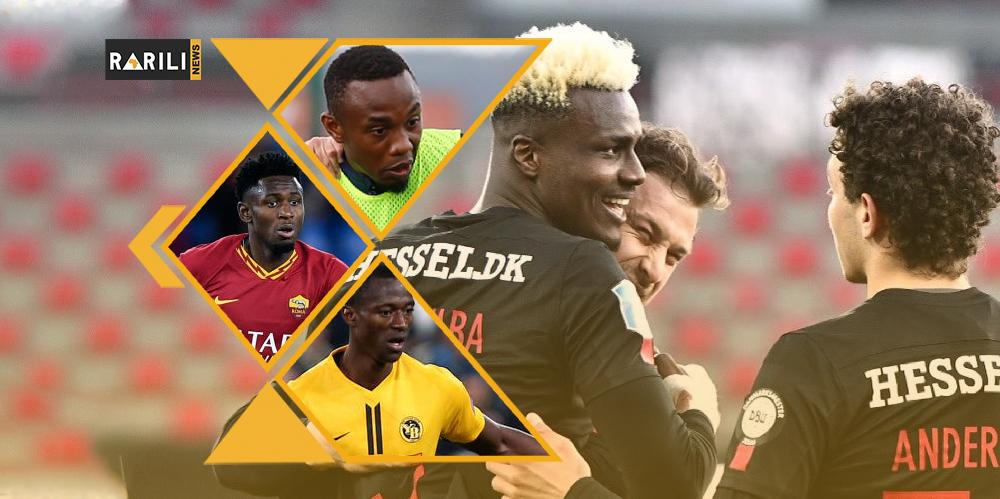 Onze Syli : Sory Kaba signe un doublé, bon débutpour Sékou Camara…