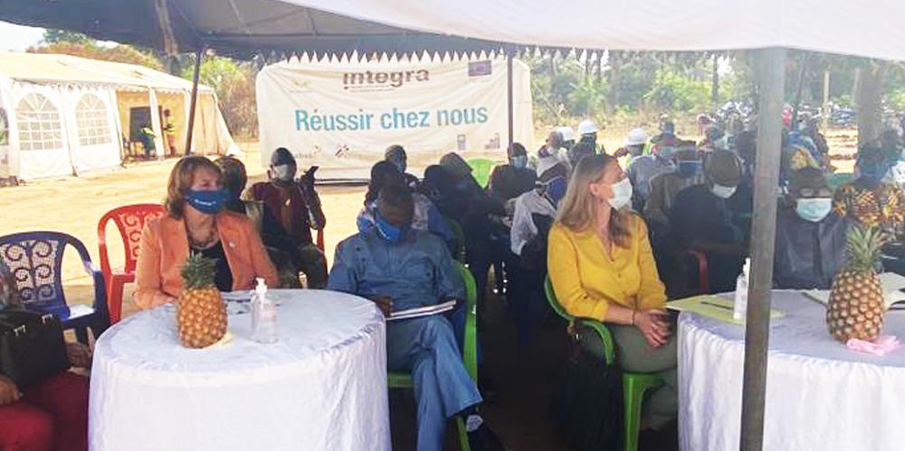 INTEGRAlance 2 nouveaux Chantiers Ecoles à Daboyah (Kindia)pour la formation de 500 jeunes.