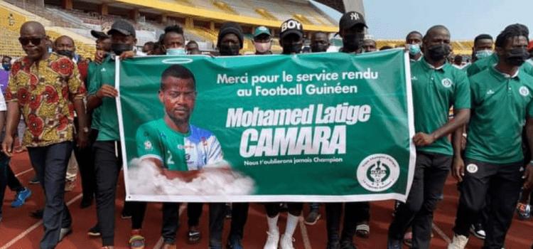 Sports   Nécrologie : le monde du football rend un dernier hommage à Mohamed Latige Camara