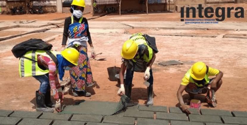 Société | INTEGRA : Démarrage d'un chantier-école à Labé !
