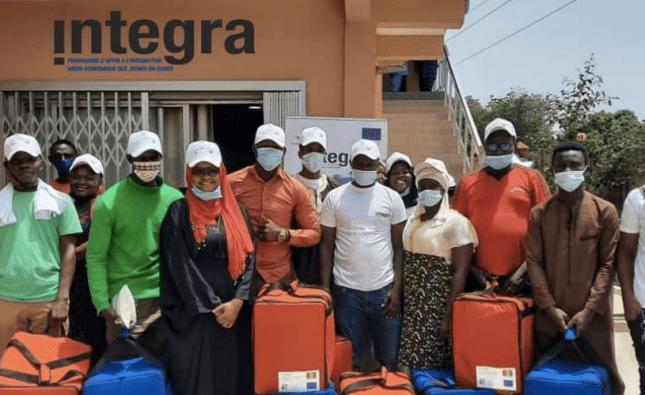 Société | Le programme INTEGRA forme 40 jeunes sur le métier de la livraison à Conakry